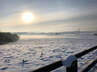 Clifton snow scene
