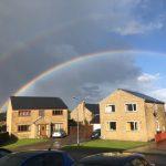 Double rainbow over Clifton